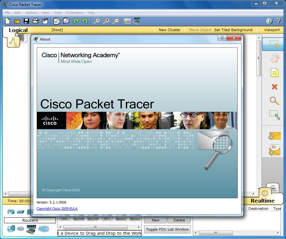 Cisco packet tracer v5.3.1 reloaded